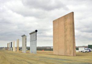 Trump insiste en la construcción de su muro fronterizo a cambio del DACA