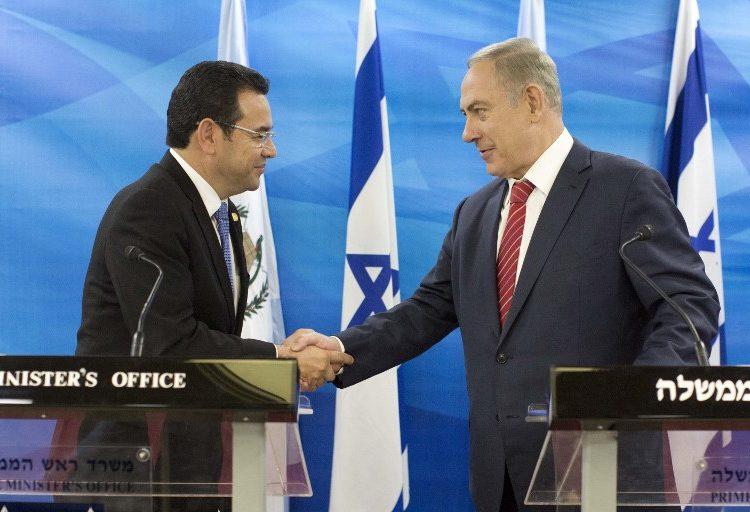 Guatemala trasladará embajada de Israel a Jerusalén