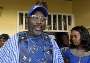 Liberia elige a famoso exfutbolista como presidente