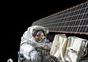 La víspera de Año Nuevo en el espacio