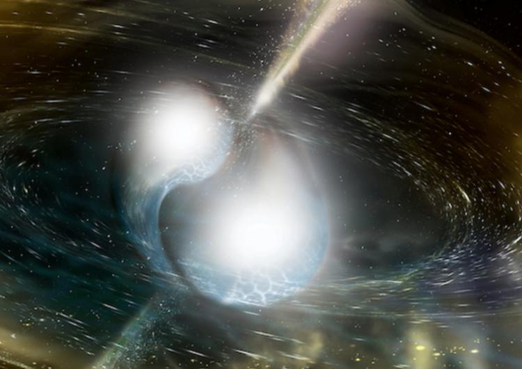 Fusión de dos estrellas de neutrones, descubrimiento científico del año