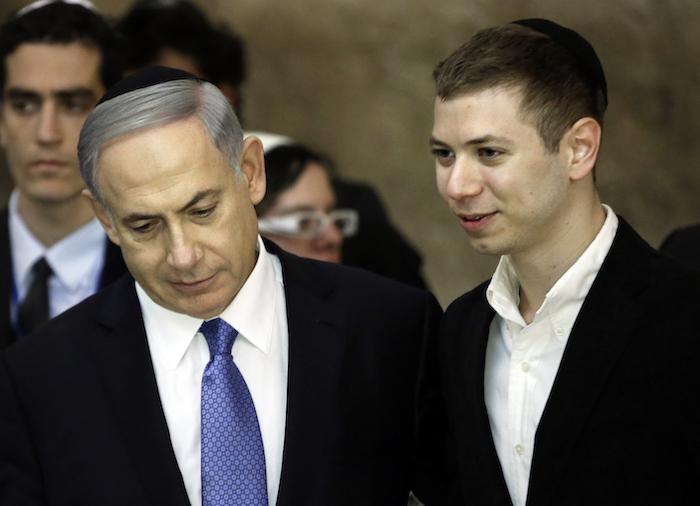 Una grabación de hijo de Netanyahu crea polémica en Israel