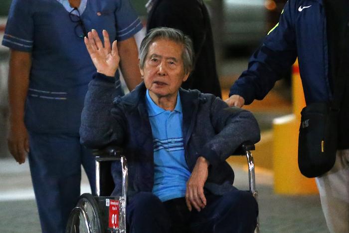 Fujimori queda en libertad tras polémico indulto