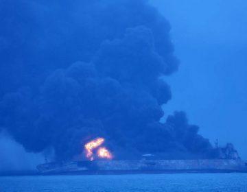 Choque de dos buques cerca de China deja 32 desaparecidos