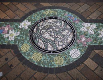 Japón convierte tapas de alcantarilla en obras de arte