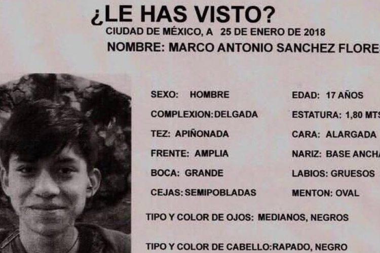 Marco Antonio, ¿qué sabemos de la desaparición del estudiante en la CDMX?