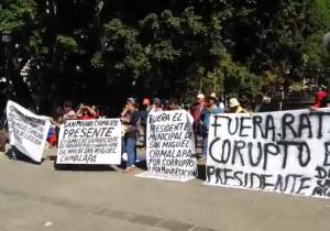 Auditoría y destitución a edil de Chimalapa, exigen pobladores
