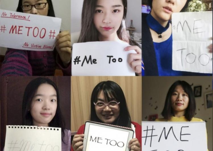 #WoYeShi: las mujeres chinas rompen el silencio contra el acoso