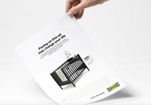 Ikea pone pruebas de embarazo en sus anuncios publicitarios