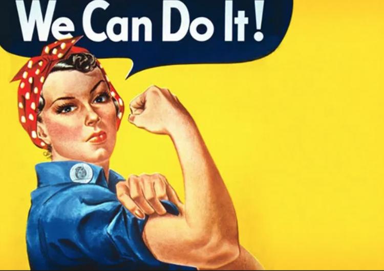 Rosie la Remachadora, así surgió la imagen más icónica del feminismo en EE.UU.