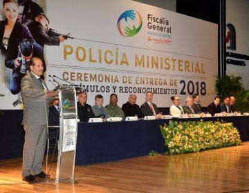 Reconoce Gobierno a policías ministeriales destacados de Ags.