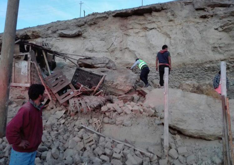 Sismo de magnitud 7.3 en Perú deja al menos dos muertos