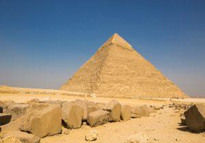 Un misterioso trono de hierro podría esconderse en la Gran Pirámide de Giza