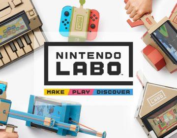 Nintendo Labo: la nipona quiere que juegues con cartón