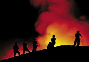 Kilauea, el volcán activo desde hace 35 años y que ahora ayuda a la ciencia