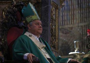 Pide arzobispo campañas de altura y sin descalificaciones