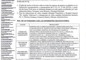 Sindicalizados de Salud tomarán Oaxaca a partir del lunes