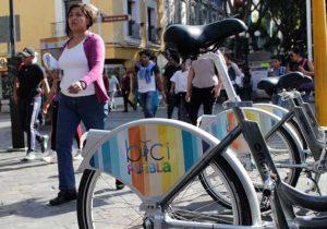 Servicio de bicicletas públicas en Puebla con pocos usuarios