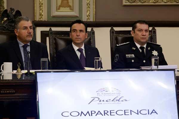 En 12 años Puebla tendría los policías requeridos: SSP
