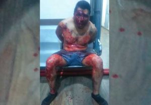 Policías salvan a ladrón de ser linchado en Huejotzingo