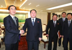 Seúl y Pyongyang acuerdan rebajar la tensión militar