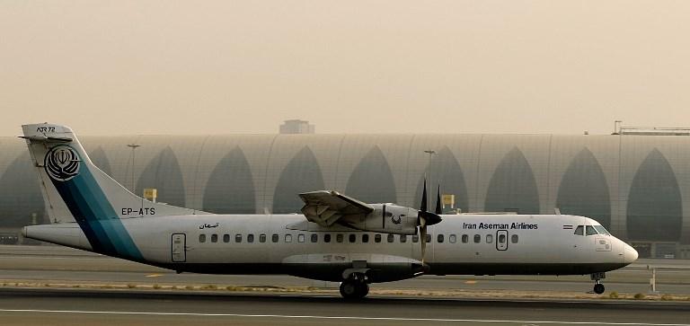 avion iraní estrelló muerto