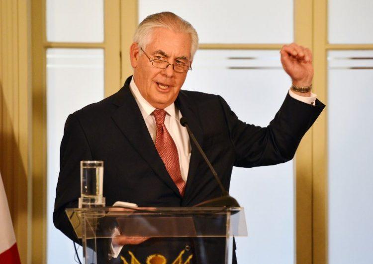 "Tillerson: Rusia enfrentará ""consecuencias"" si vuelve a entrometerse en elecciones"