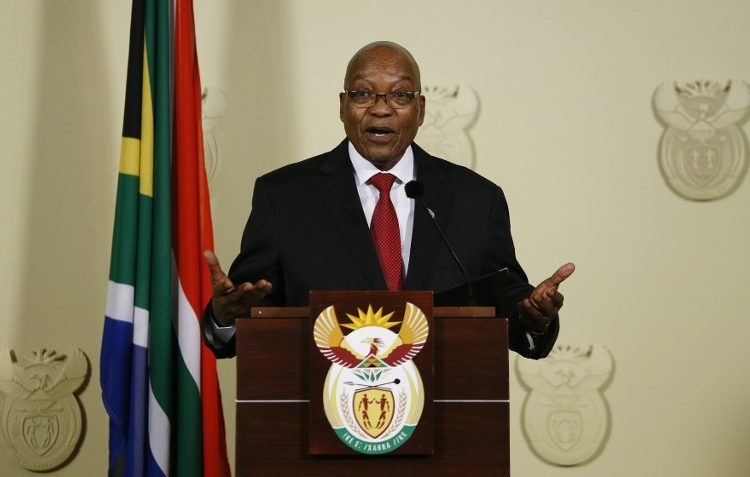 crisis corrupción dimisión presidente sudáfrica