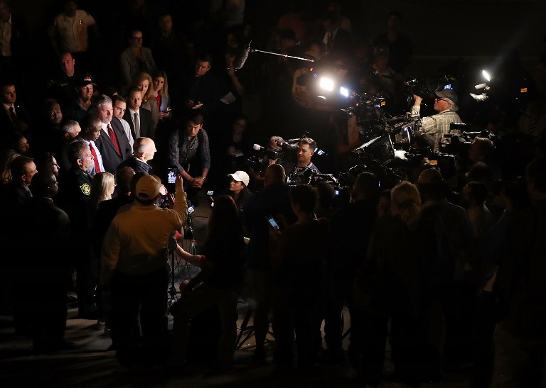 conferencia de prensa florida tiroteo