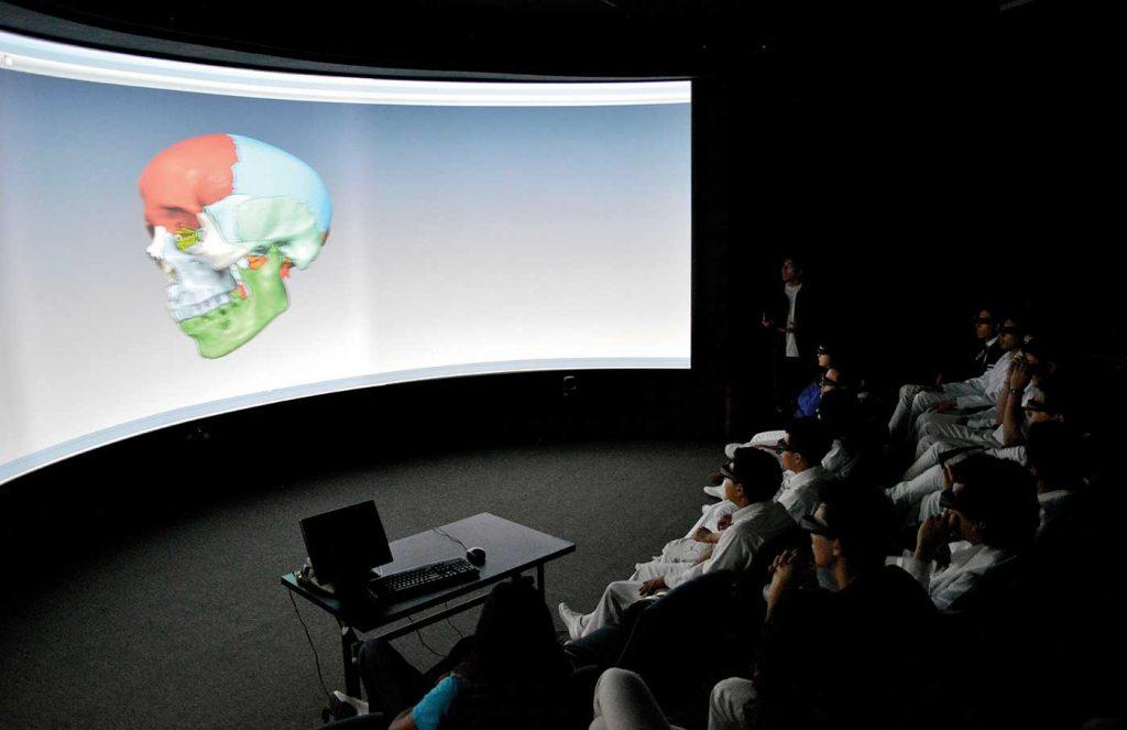 realidad virtual UNAM industria