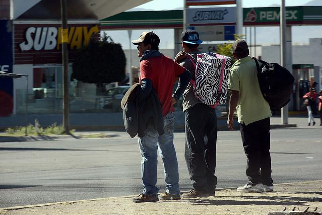 La ruta migrante: Tres autobuses asegurados en dos años