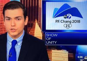 Una televisora de Chicago confunde la sede de los Juegos Olímpicos con una cadena de restaurantes