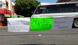 Las protestas del día en Oaxaca