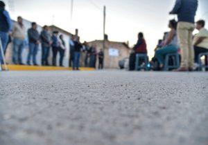 Entrega ayuntamiento infraestructura en Corral de Barrancos