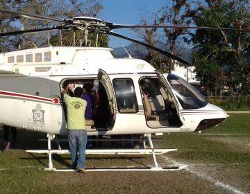 Trasladan vía aérea a herido por balacera en la Sierra Sur a la capital oaxaqueña