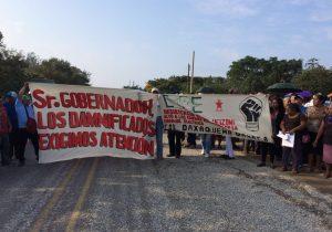Damnificados y Sección 35,  bloquean hoy el Istmo
