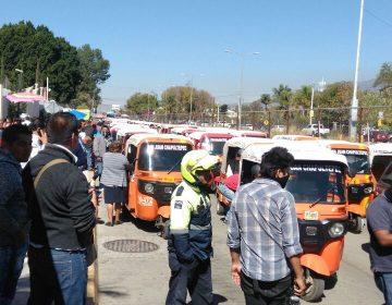 Organizaciones Istmo de Tehuantepec exigen recursos representando a damnificados; mototaxistas capitalinos llaman a no regularizar pirataje