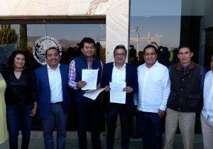 Diputados del PAN Y PRD presentan denuncia contra CORTV