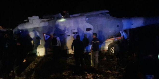 Navarrete y Murat sobreviven a desplome de helicóptero