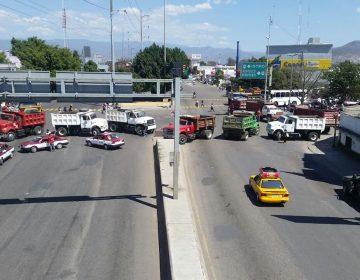 CTM bloquea la capital Oaxaqueña