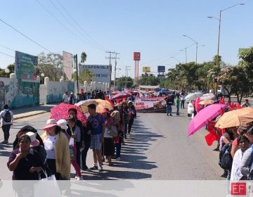 Con marcha, Antorcha Campesina muestra repudio al Gobierno y al PRI