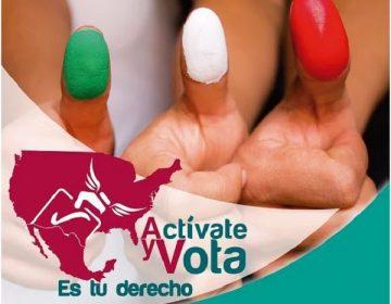 A través de campaña, promueven el voto de mexicanos en Estados Unidos