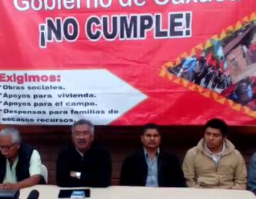 Antorcha Campesina anuncia movilizaciones en Oaxaca porque gobierno no les otorga obras, apoyos para vivienda, campo y despensas