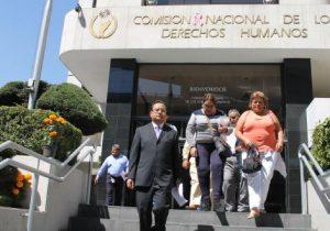 Leonardo García presenta queja ante la CNDH