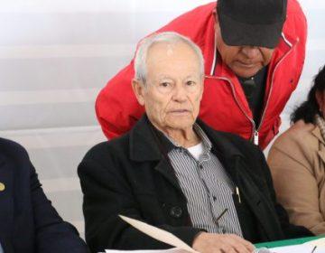 Justifica Priego que su hijo cobre 105 mil pesos en el Senado