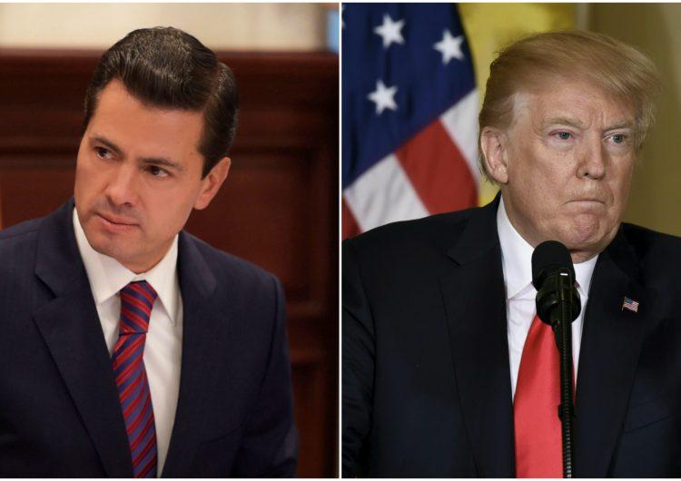 El desacuerdo sobre quién pagará por el muro hacen a Peña y Trump cancelar reunión
