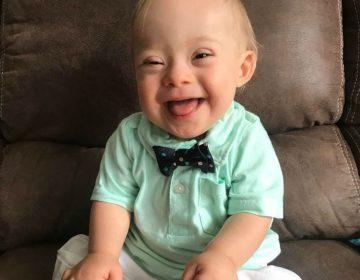 Lucas, el primer bebé Gerber con síndrome de Down