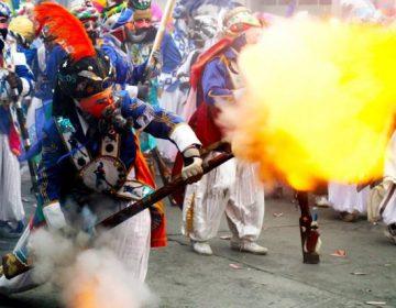 Tres heridos graves en el carnaval de Huejotzingo