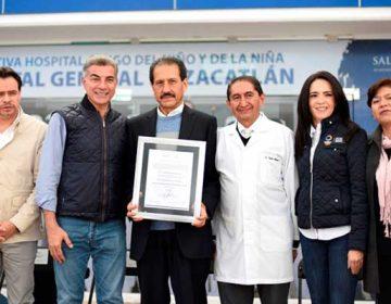 Hospital Universitario de Puebla recibe acreditación de la SSA federal