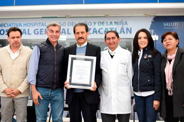 Hospital Universitario de Puebla recibe acreditación de la SSA federal